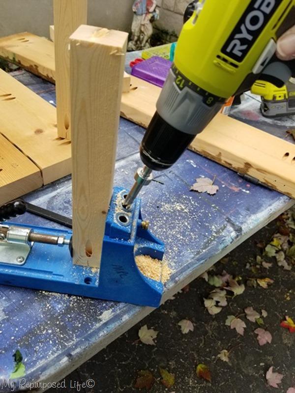 drill pocket holes