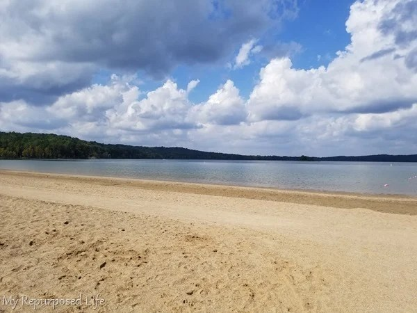 patoka lake beach