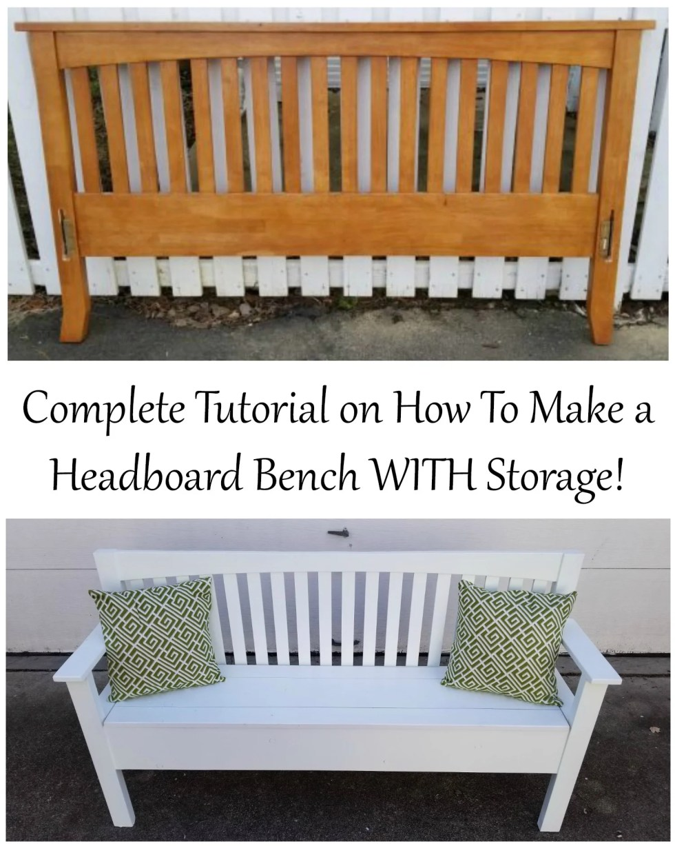 Headboard Bench Tutorial