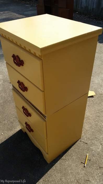 stacked nightstands vertical storage chest