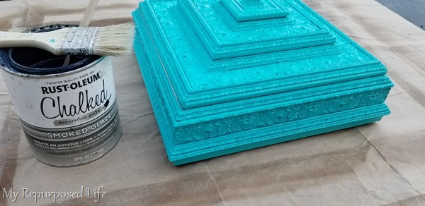 why I prefer glazing diy projects instead of waxing