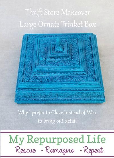 why I prefer to glaze instead of wax MyRepurposedLife