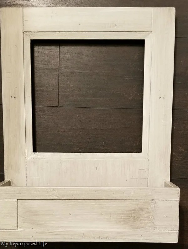 glazed pottery barn rustic mirror cabinet resized