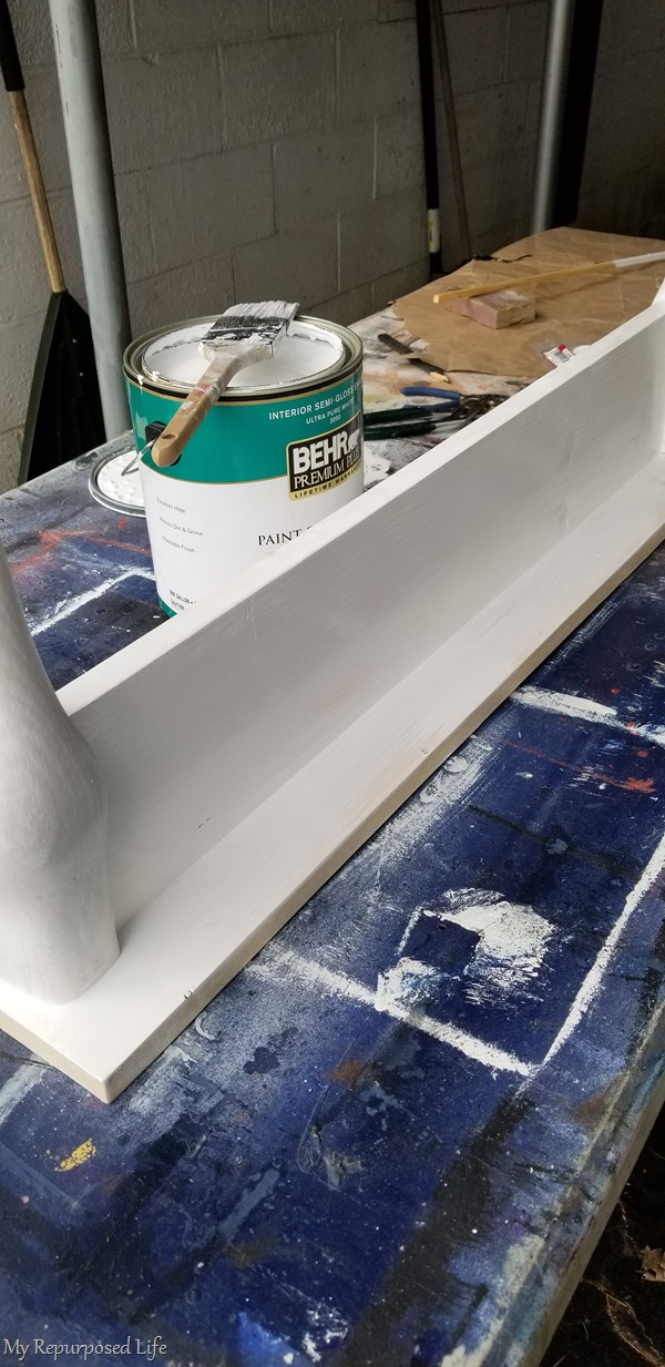 several light coats of paint work better than a couple of heavy coats