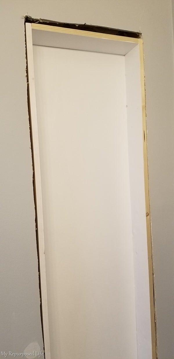 broom closet wall insert