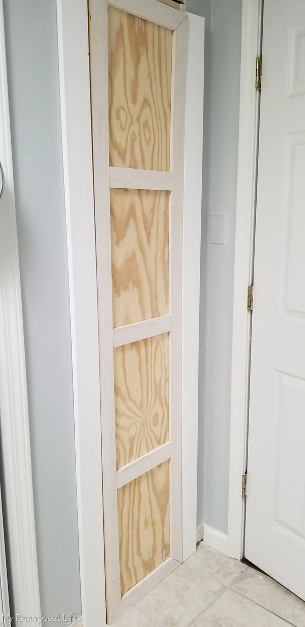 dry fit of closet door