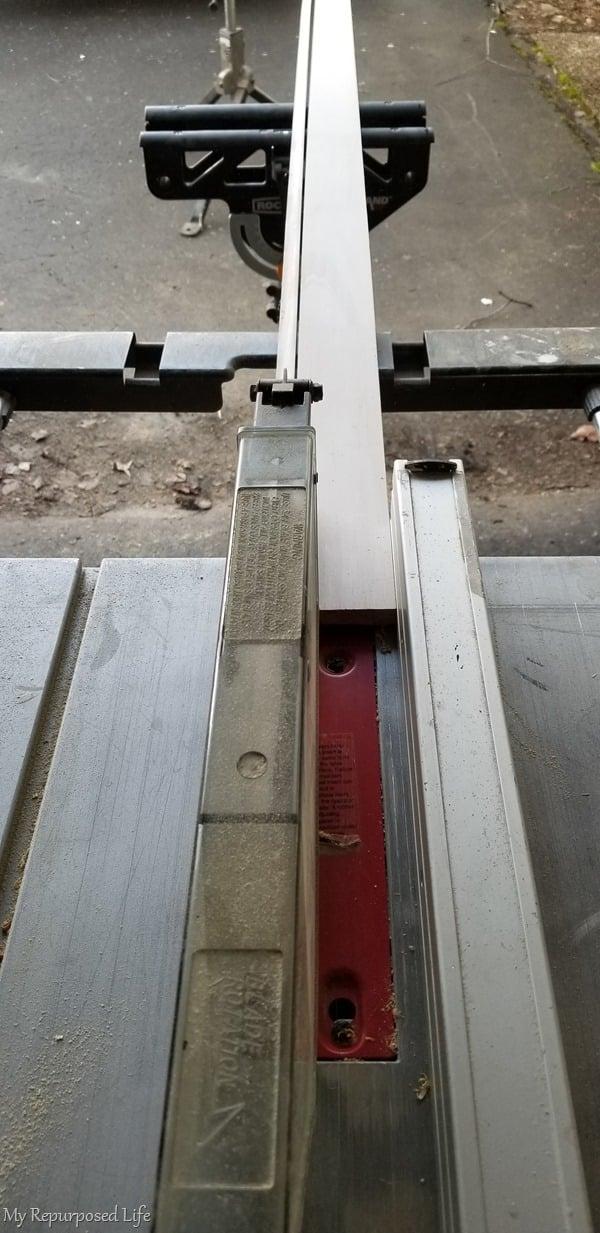 half inch stock for closet door trim