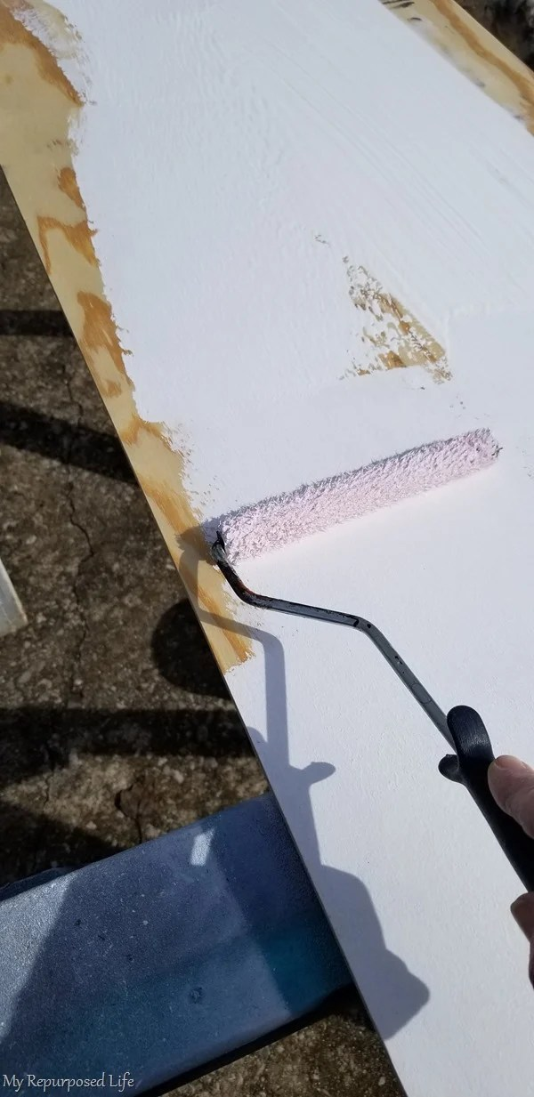 paint insert back with small roller