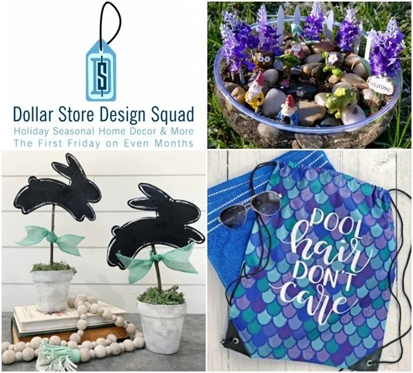 Dollar Store Spring Projects