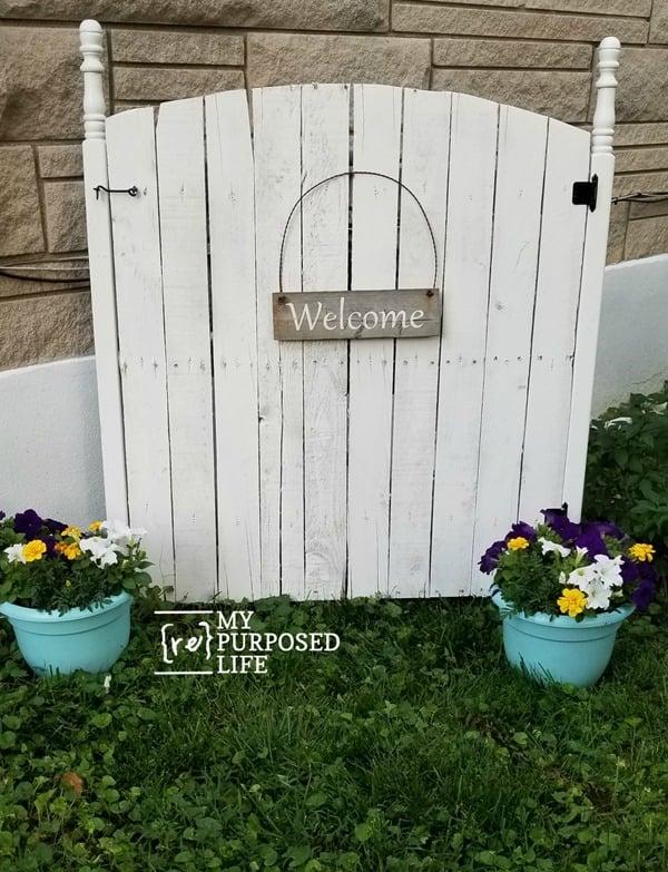 Gas Meter Cover | Outdoor Eyesore - My Repurposed Life®