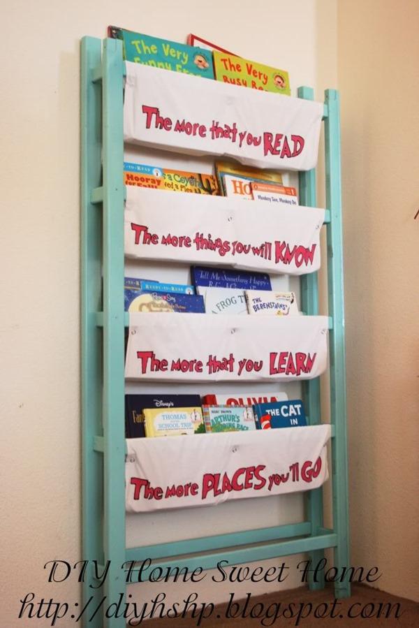 repurposed-crib-into-book-storage