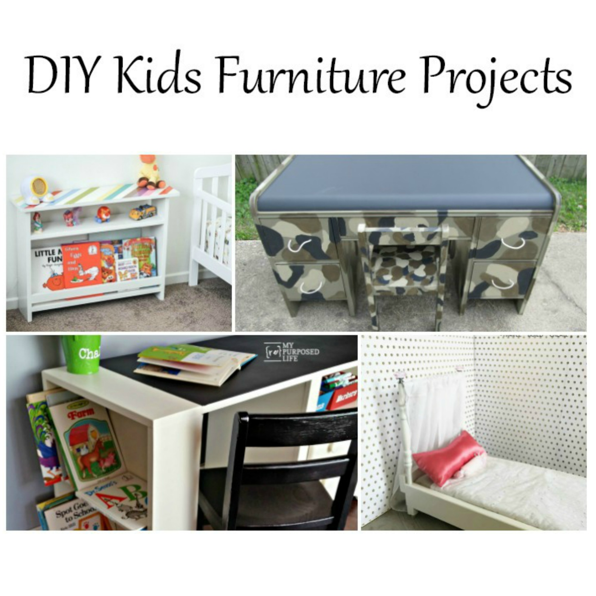 Excellent Diy Kids Furniture Projects My Repurposed Life Rescue Re Theyellowbook Wood Chair Design Ideas Theyellowbookinfo