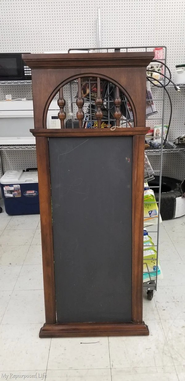 thrift store spindle mirror