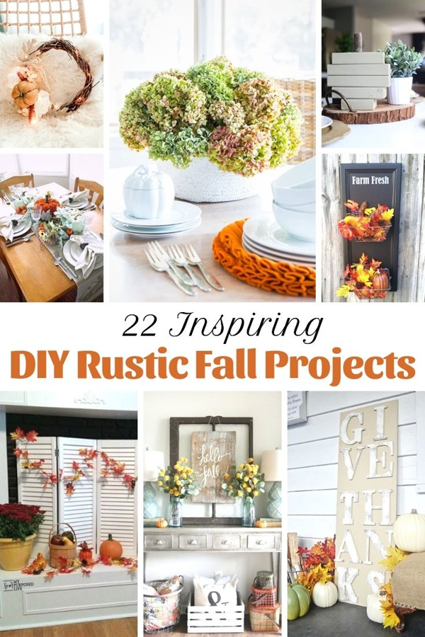 22 Inspiring DIY Rustic Fall Projects