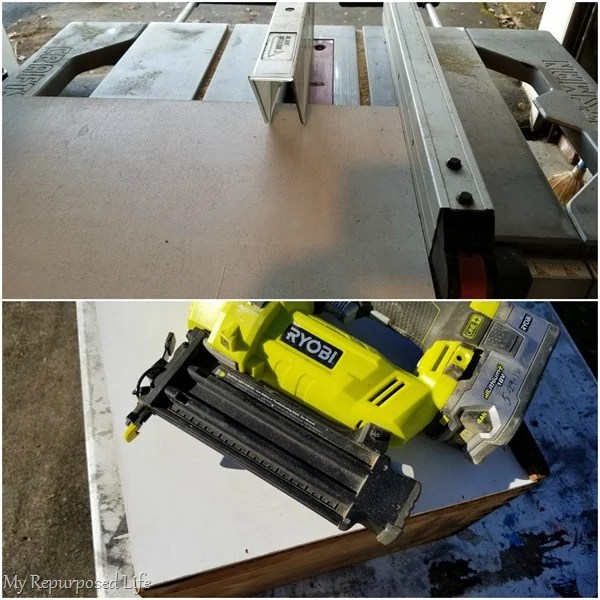 scrap plywood replaces drawer bottom