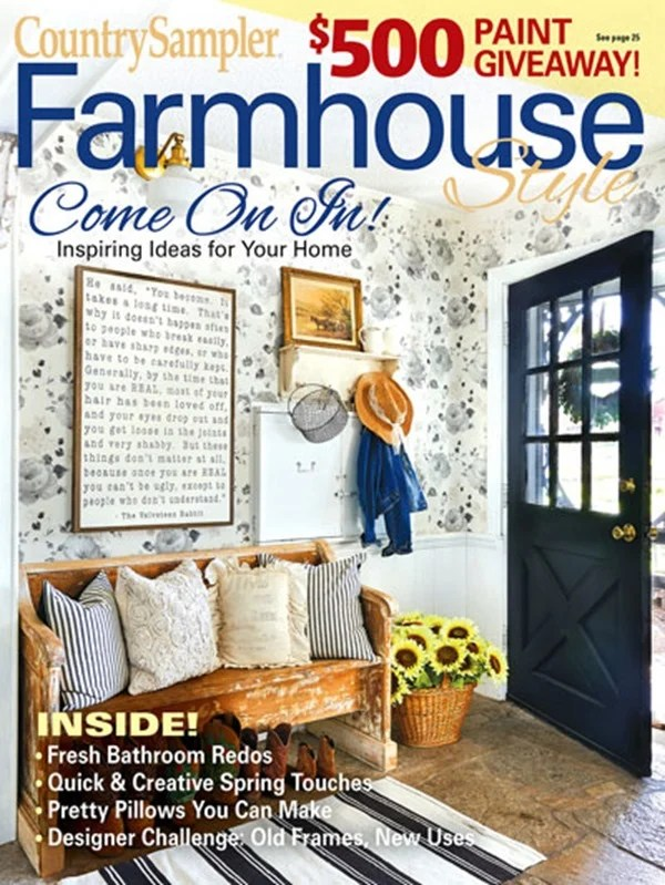 CountrySampler Farmhouse Magazine