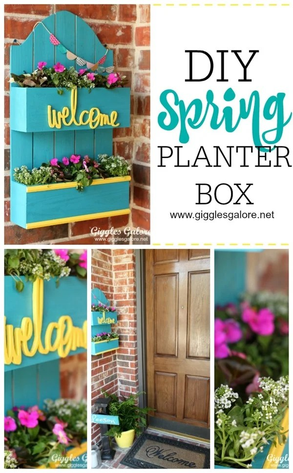 DIY-Spring-Planter-Box Giggles Galore