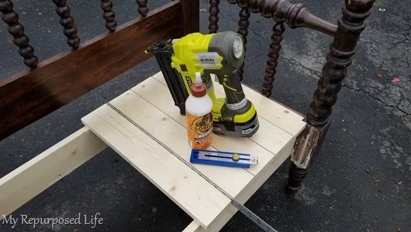how to attach headboard bench seat