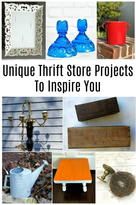 unique thrift store projects to inspire you