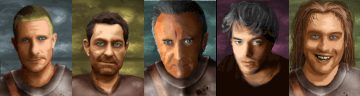 some portraits I dun hacked together