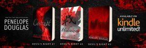Teaser Scene Nightfall (Devil's Night #4) by Penelope Douglas