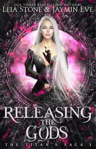 Book Review Releasing The Gods by Jaymin Eve