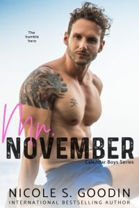 Mr. November by Nicole S. Goodin