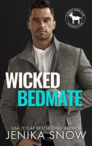 Cover Reveal Wicked Bedmate (Cocky Hero Club) by Jenika Snow