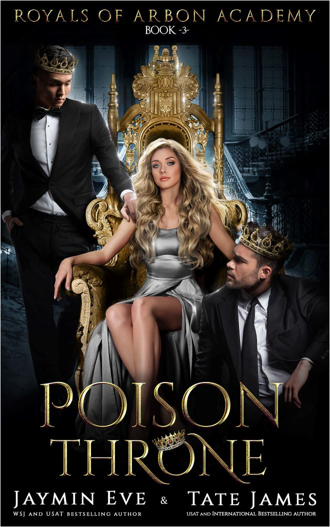 Poison Throne by Tate James & Jaymin Eve