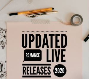 Updated Live Releases 2020 - Romance books