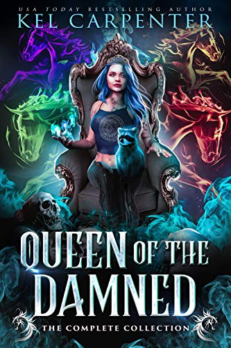 Queen of the Damned Series by Kel Carpenter
