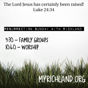Easter Sunday with Richland