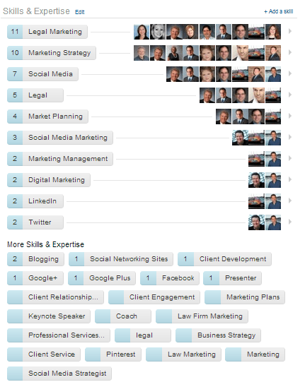 LinkedIn Skills & Expertise Section of Your Profile