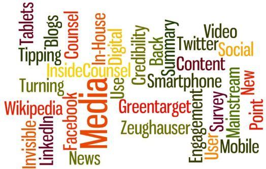 Greentarget InsideCounsel Zeughauser Study of Inside Counsel Use of Social Media