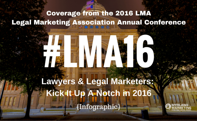 #LMA16 - Lawyers & Legal Marketers, Kick It Up A Notch In 2016