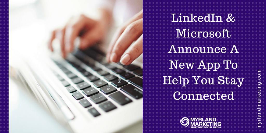 LinkedIn Microsoft Windows 10 App