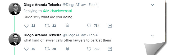 Michael Avenatti Lashes Out On Twitter 3
