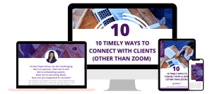 10 Timely Ways To Connect With Clients