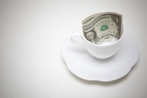 Save Your Coffee Money (Image courtesy of khunaspix / FreeDigitalPhotos.net)