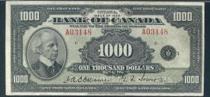 1935 Thousand Dollar Bill