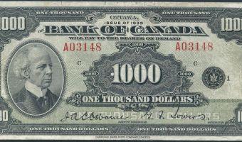 The Thousand Dollar Bill