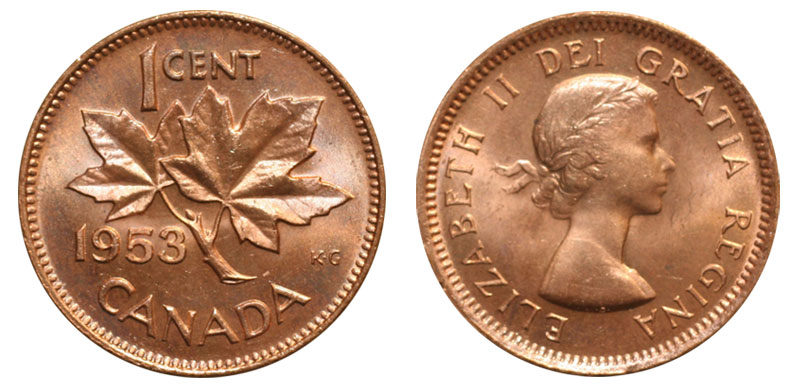 how much is a 1920 canadian penny worth today