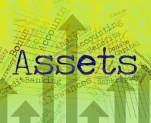 income generating assets : image with the word assets in the centre
