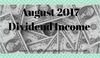 August 2017 Investment Income $338
