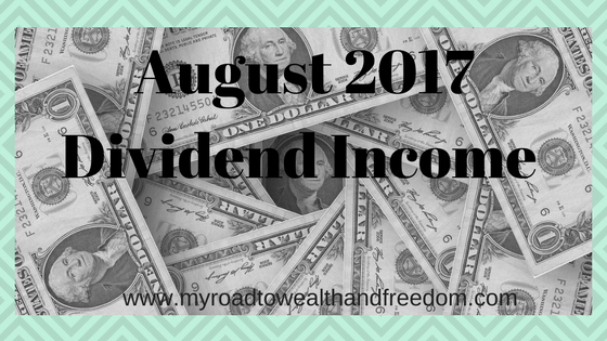 August 2017 investment income