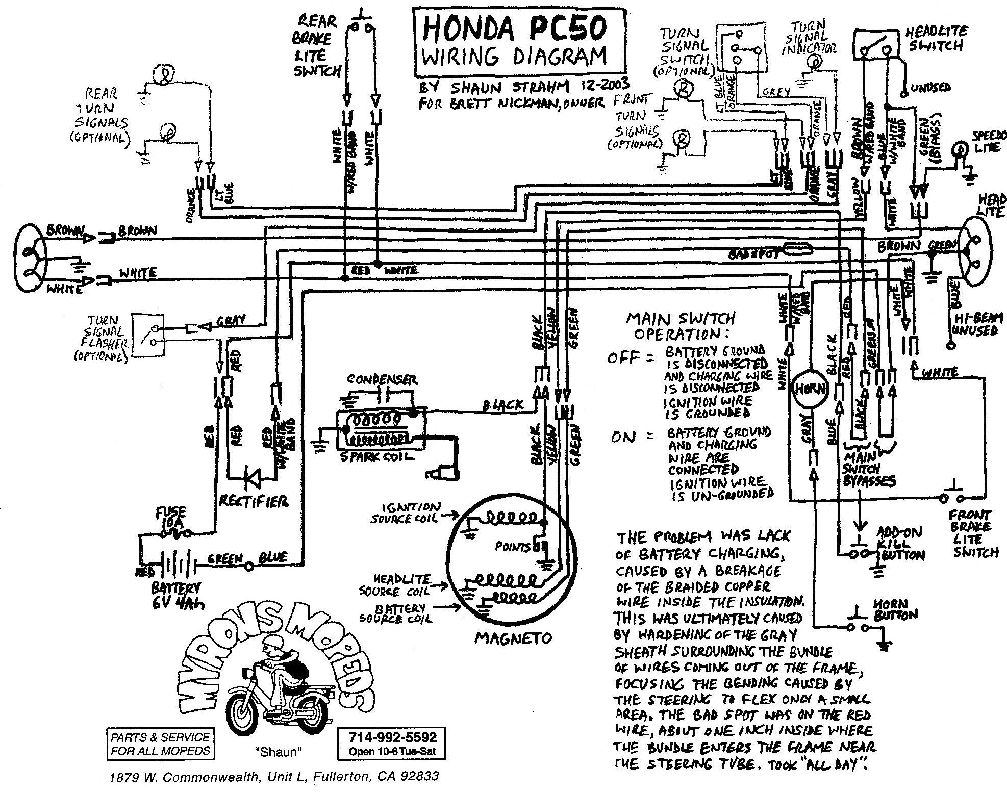 Diagram I Need A Wiring Diagram For The Ignition Switch