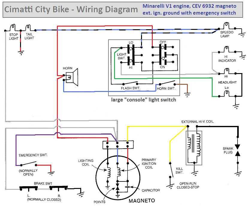 Cimatti City Bike Wiring Diagram1 xg 470 gas scooter wiring diagram xg 470 gas scooter wiring  at gsmx.co