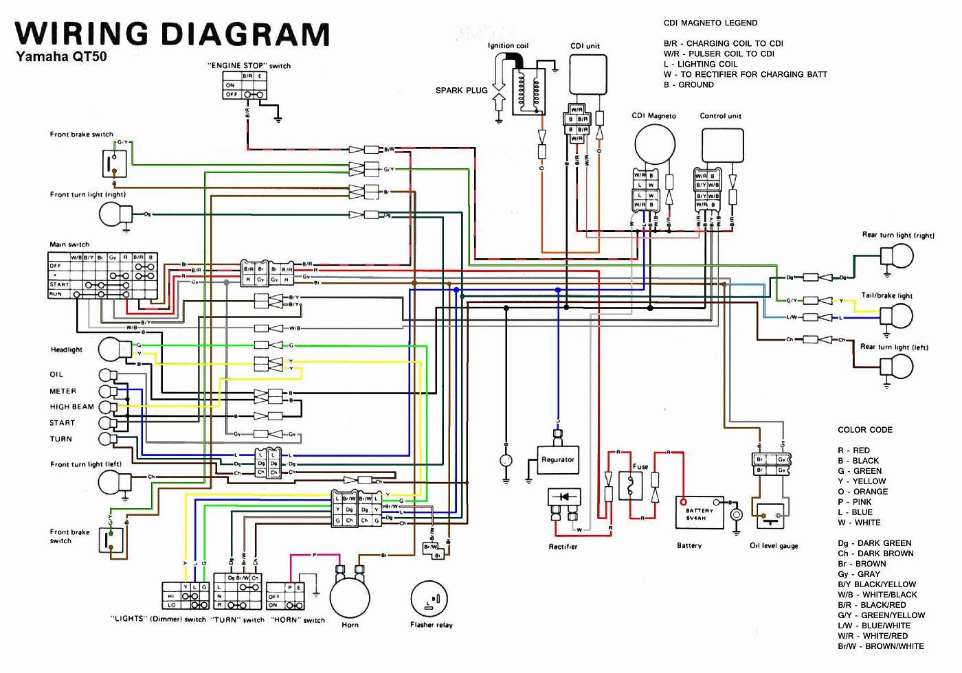 fancy xs1100 wiring diagram images electrical circuit diagram rh suaiphone org QT50 White QT50 Mods