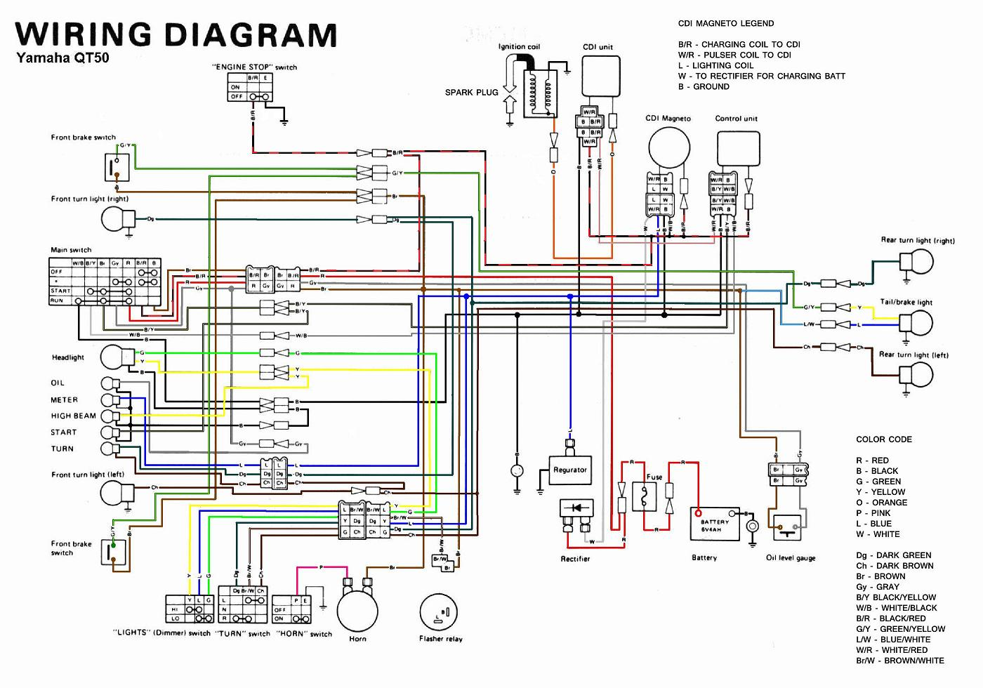 Yamaha QT50 Wiring Diagram?resized665%2C466 xs650 chopper wiring diagram efcaviation com sr400 wiring diagram at honlapkeszites.co