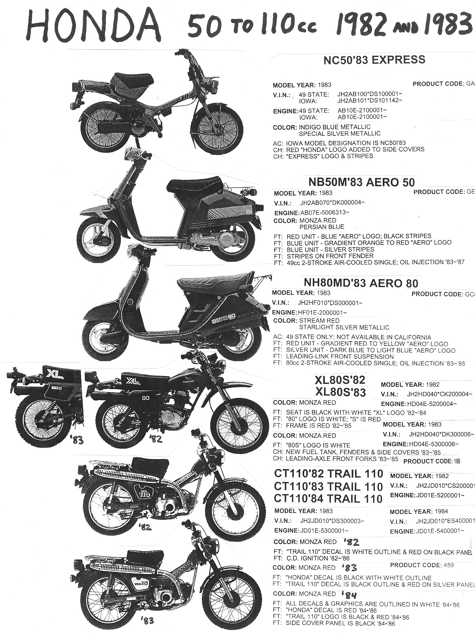 tomo moped part